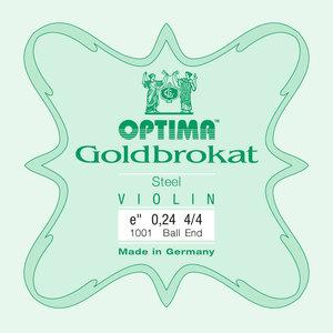 Optima Goldbrokat Violin E String, Steel