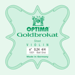 Optima Goldbrokat Violin E String, Steel