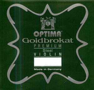 Optima Goldbrokat Violin String, E Steel Premium
