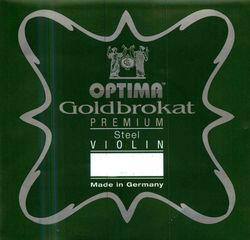 Optima Goldbrokat Violin String, E Steel Premium