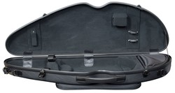 Hidersine Polycarbonate Violin Case. Half Moon Model.