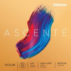 D'Addario Ascenté Violin String, G