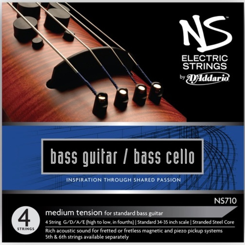 Image of NS Electric Bass/Cello Strings, SET