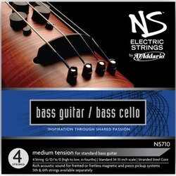 NS Electric Bass/Cello Strings, SET