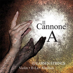 Larsen Il Cannone and Soloist Violin String, A