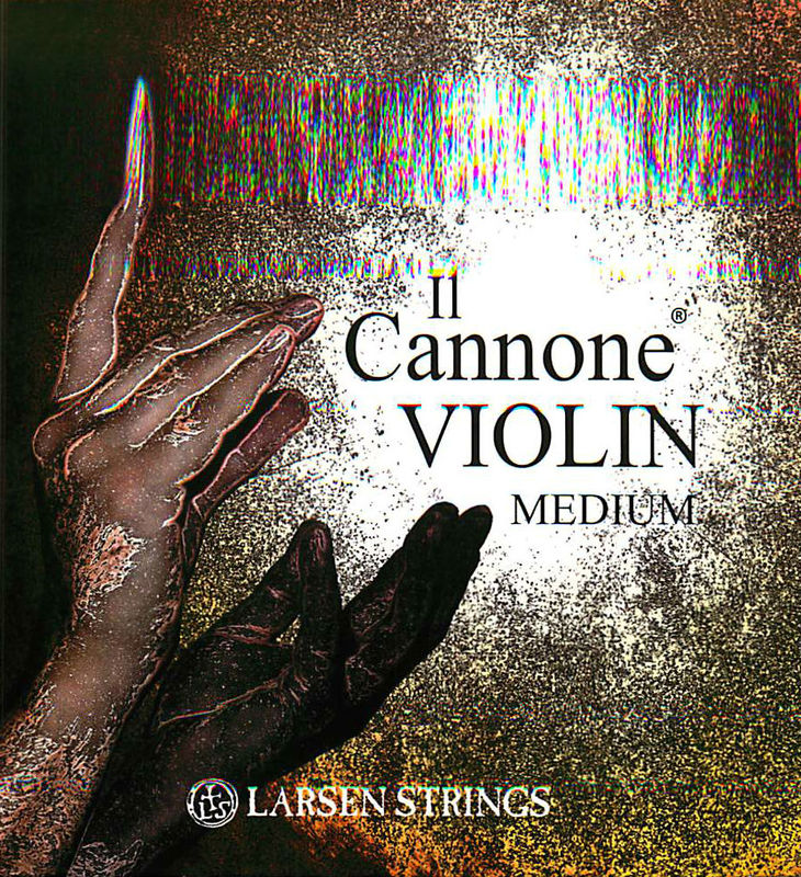 Image of Larsen Il Cannone and Soloist Violin Strings, SET