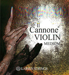 Larsen Il Cannone and Soloist Violin Strings, SET