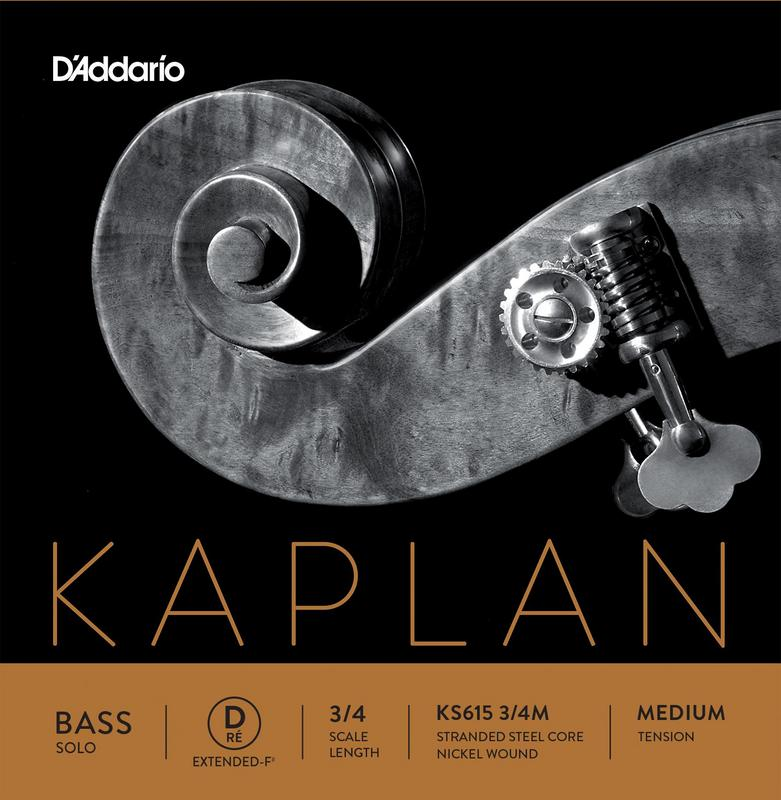 Image of Kaplan Solo Double Bass String, D-Ext