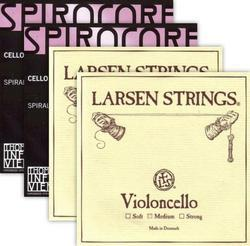 Larsen / Spirocore Professional Cello String Combination Set (Save 5%)