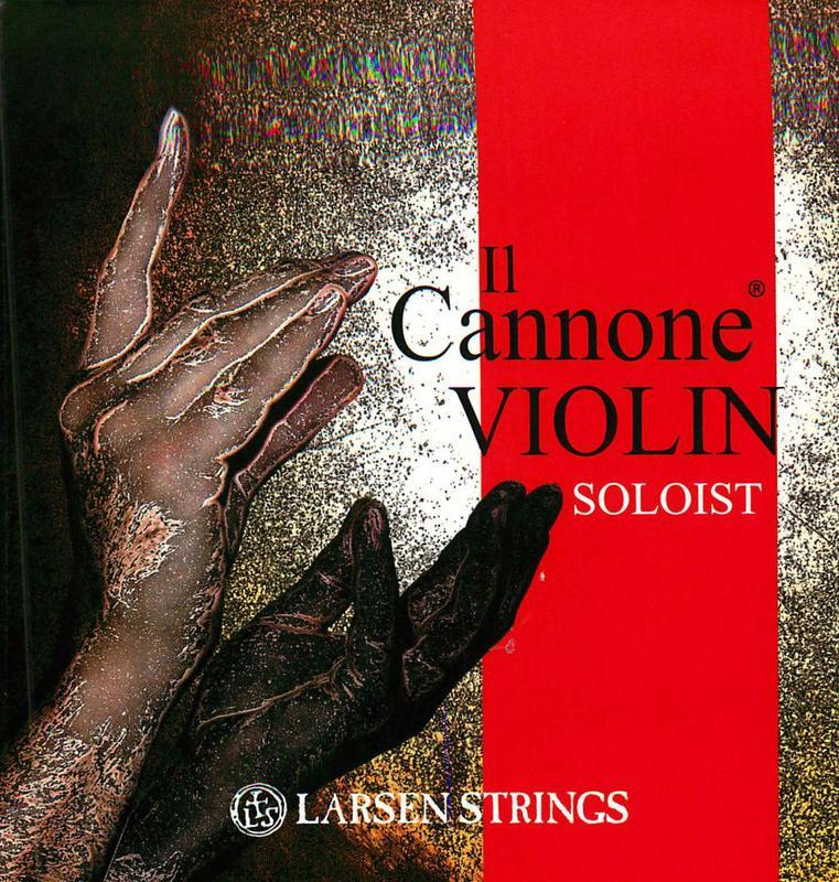 Image of Larsen Il Cannone Soloist Violin Strings, SET