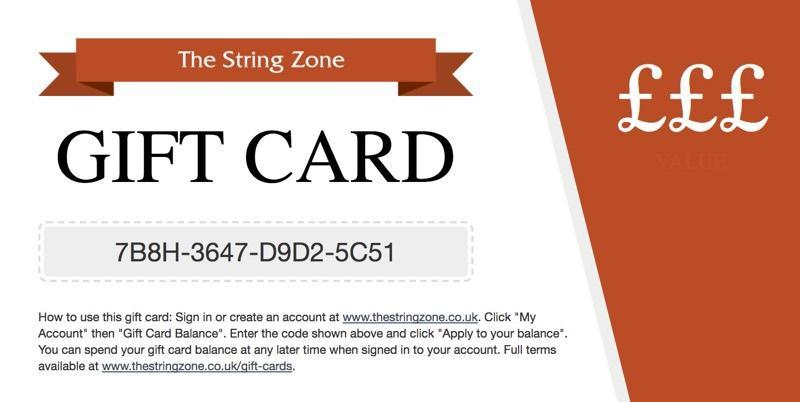 Image of The String Zone E-Gift Cards