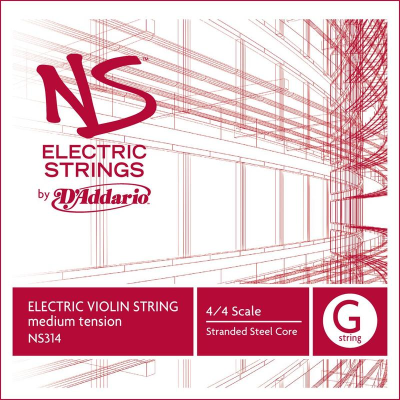 Image of D'Addario NS Electric Violin String, G
