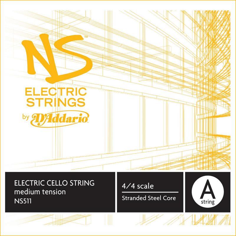 Image of D'Addario NS Electric Cello String, A