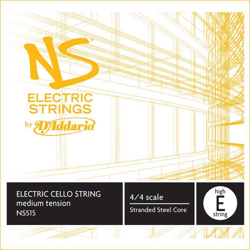 Image of D'Addario NS Electric Cello String, E