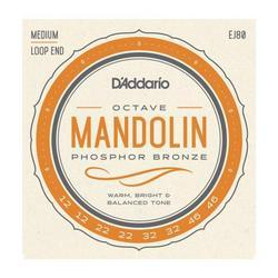 D'Addario EJ80 Phosphor Bronze Octave Mandolin Strings, SET