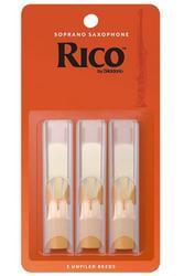 Rico Reeds, Soprano Saxophone (3 Pack)