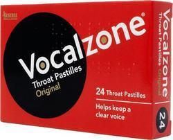 Vocalzone Throat Pastilles - Original