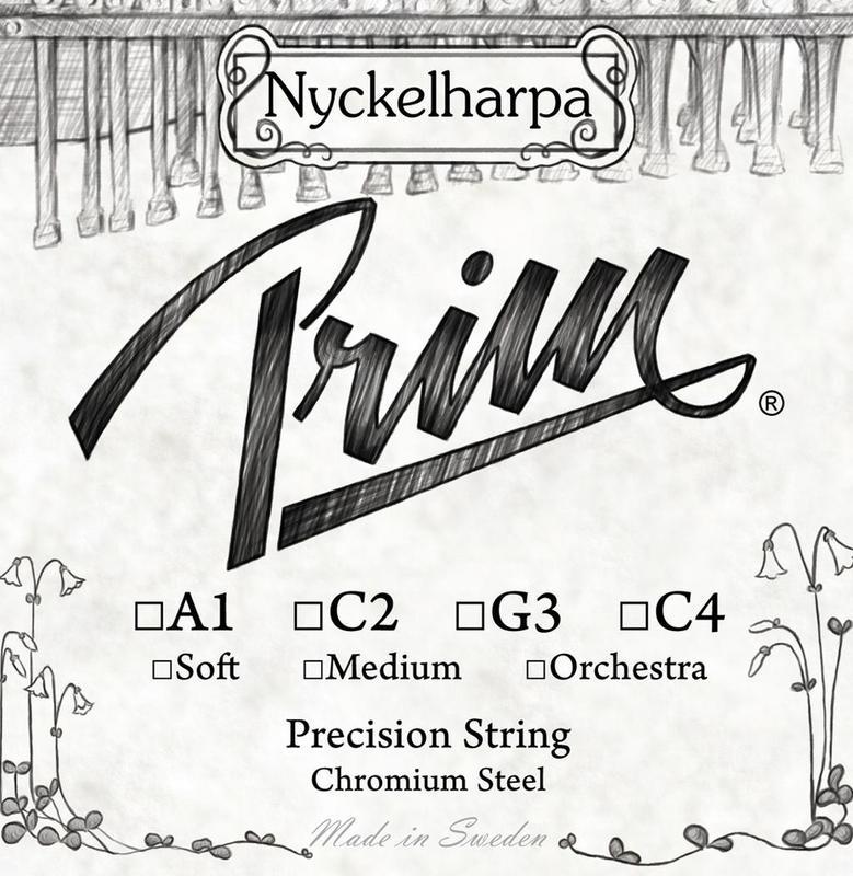 Image of Prim Nyckelharpa String, C4