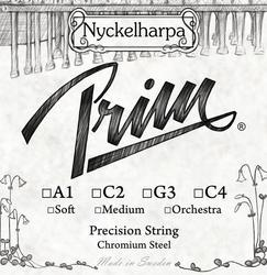 Prim Nyckelharpa String, C4