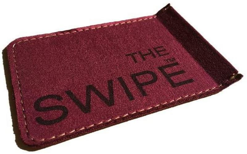 Image of The Swipe String Cleaner, Burgundy