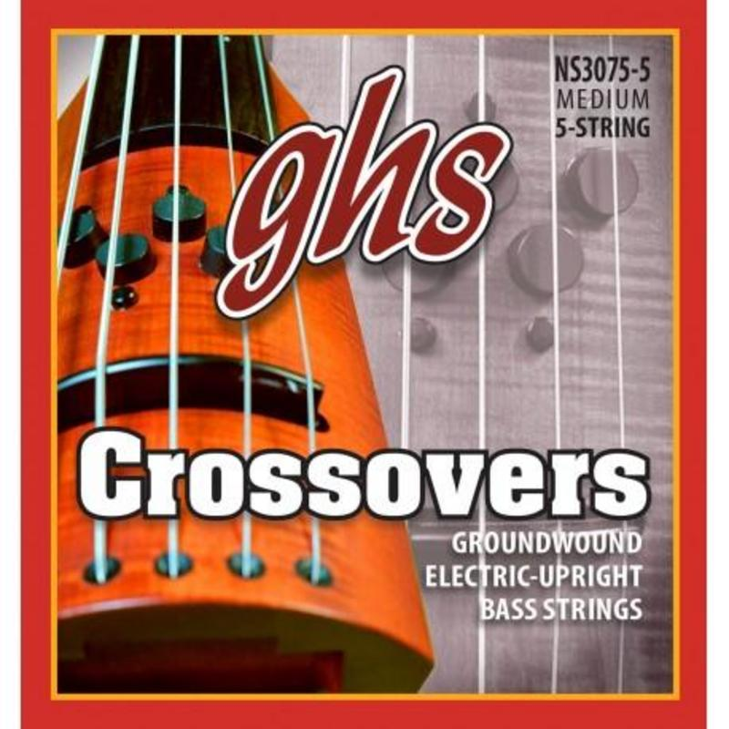 Image of GHS Crossover 5 String Electric Upright Bass, SET