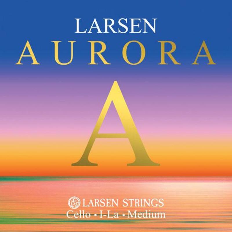 Image of Larsen Aurora Cello Strings, A