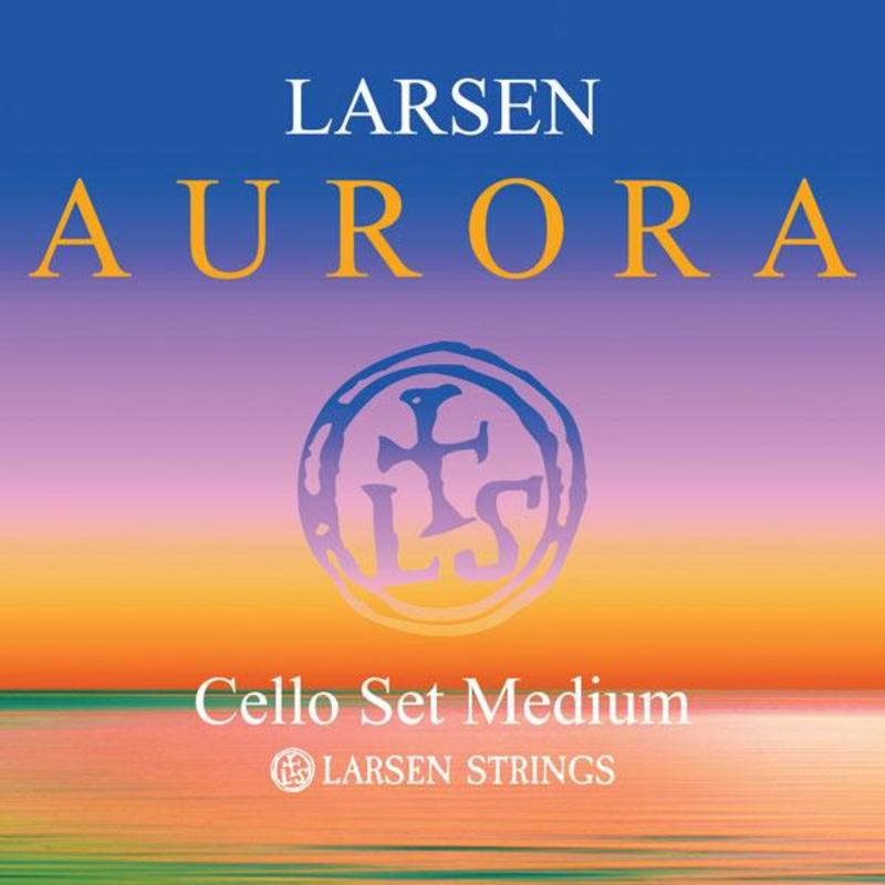 Image of Larsen Aurora Cello Strings, SET