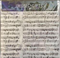 Mozart Manuscript White Gift Wrap Pack