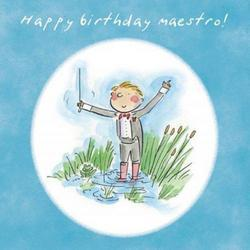 Happy Birthday Maestro! Card