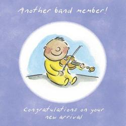 New Band Member - New Baby Card