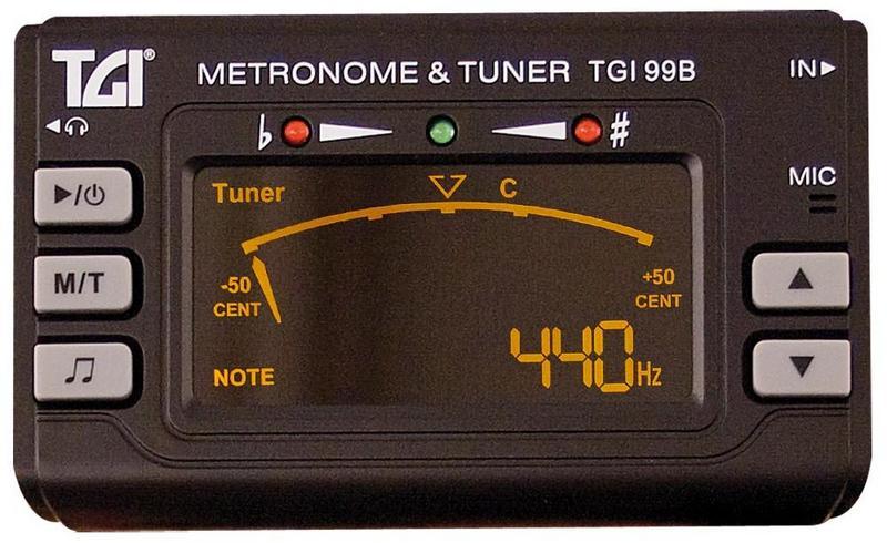 Image of TGI Chromatic Tuner/Metronome
